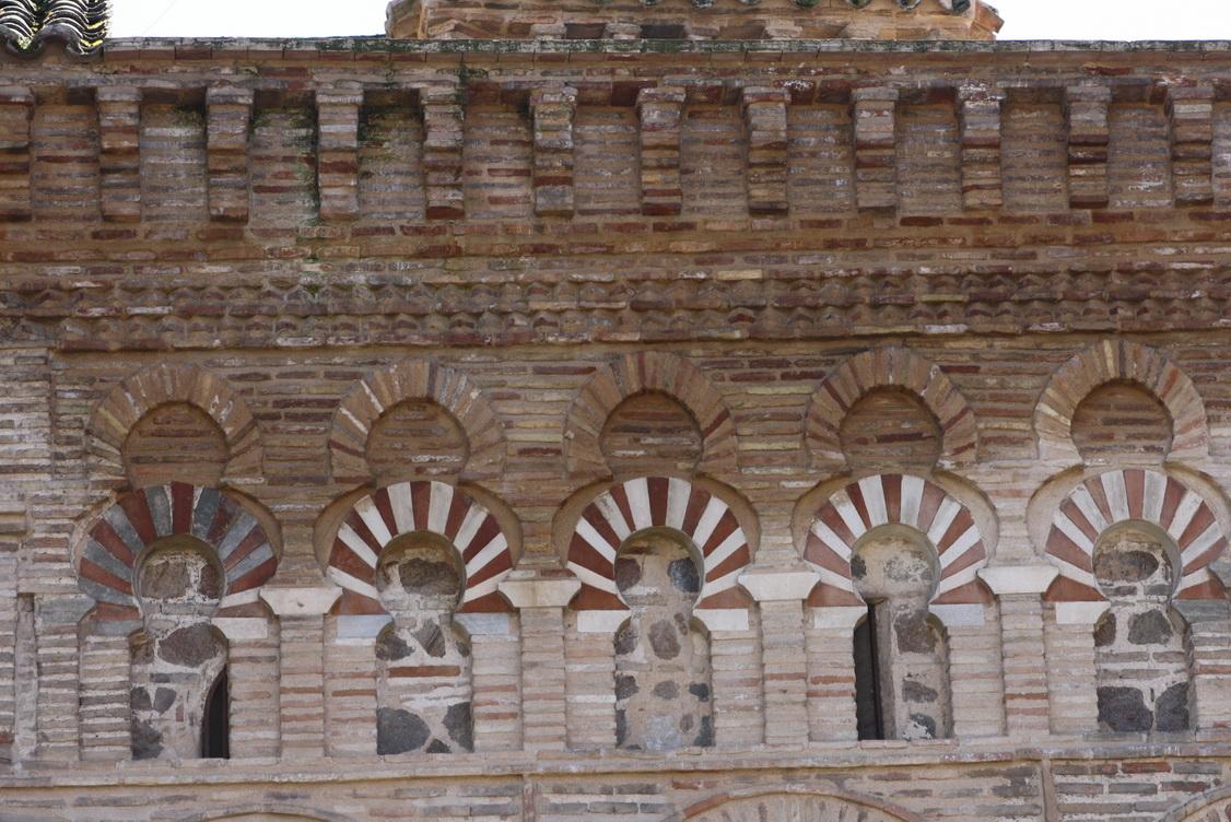 Estado de la fachada norte de la Mezquita del Cristo de la Luz