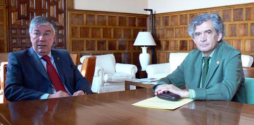 Ramón Sánchez y José Manuel Tofiño