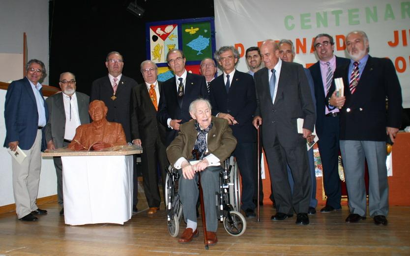 Homenaje a D. Fernando Jiménez de Gregorio