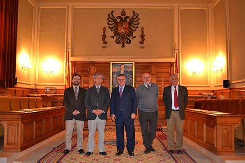 Visita a la Diputación de Toledo